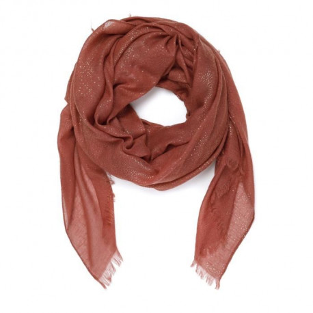 LPB WOMAN - Foulard Cannelle Irisé