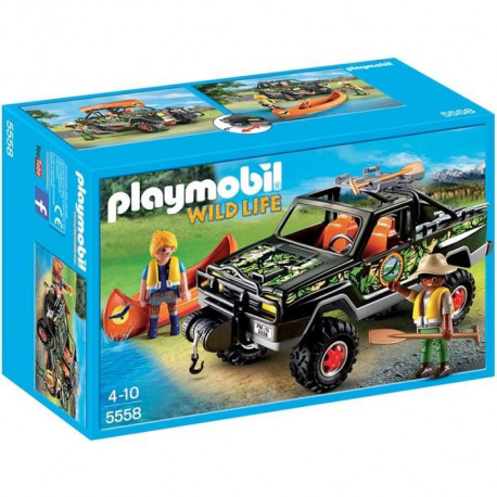 PLAYMOBIL 5558 Voiture Pick-up des aventuriers