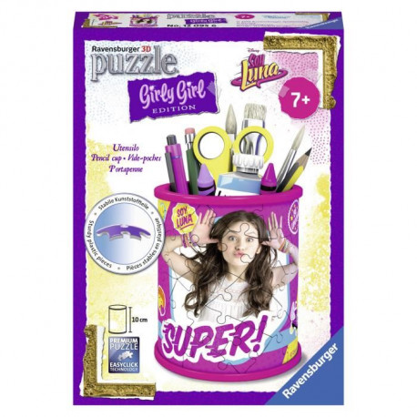 SOY LUNA GIRLY GIRL Pot a crayons (Puzzle 3D)