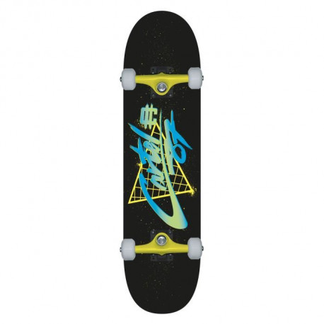 "CARTEL Skateboard 7,8"" - Mixte - Jaune"