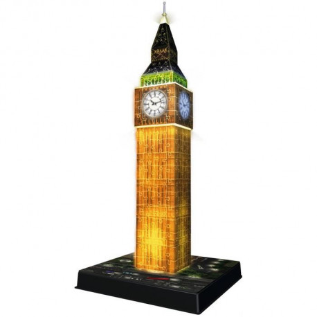 RAVENSBURGER Puzzle 3D Big Ben Night Edition 216 pcs