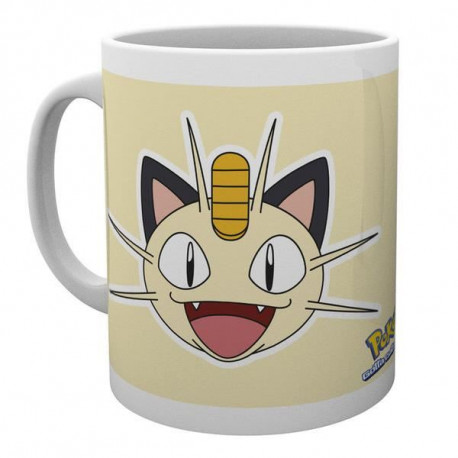 Mug Pokemon Miaous Face