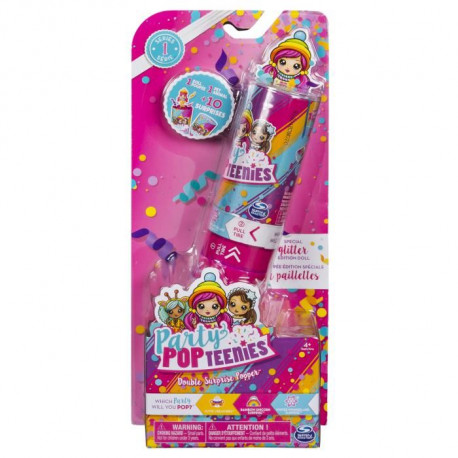 PARTY POPTEENIEES Crackers Surprise Double - Modele aléatoire