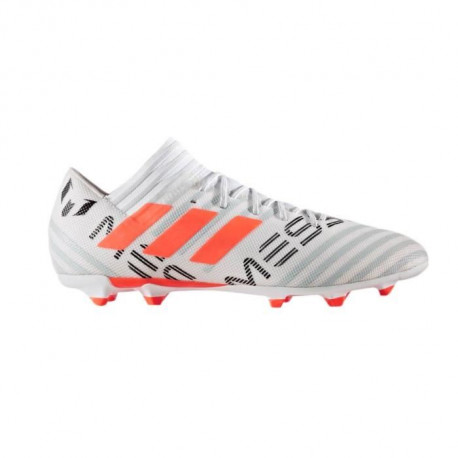 ADIDAS Chaussures de Football Nemeziz Messi 17.3 FG - Homme - Blanc et Orange