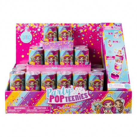 PARTY POPTEENIEES Crackers Surprise - Modele aléatoire