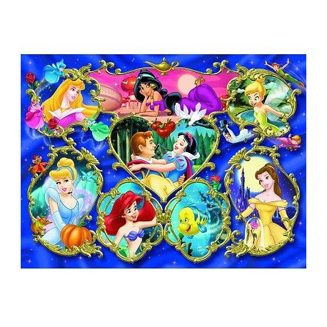 DISNEY PRINCESSES Puzzle 300 pcs - Disney