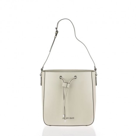 ARMANI JEANS - Sac a Bandouliere Beige a Coulisse - Femme