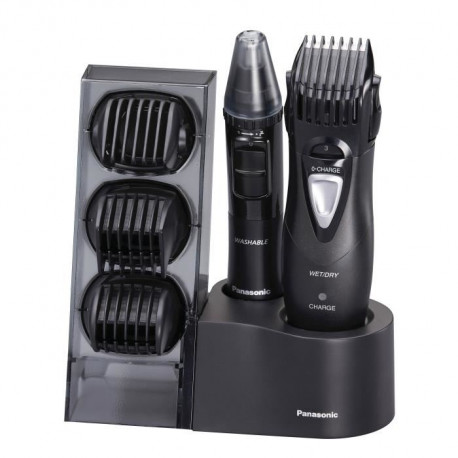 PANASONIC ER-GY10CM504 Tondeuse Wet & Dry multi-usages 4 en 1 (cheveux, barbe, corps, visage)