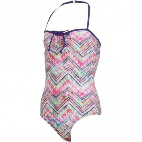 UP2GLIDE Maillot 1 Piece Fille Calipso - Violet