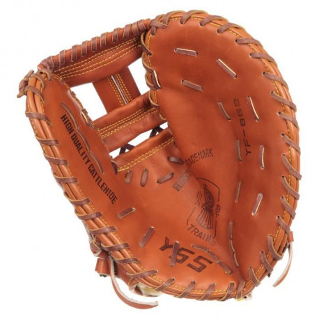 Gant de baseball gaucher - Mixte - Marron