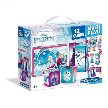LA REINE DES NEIGES Cubes 12 pieces Multi Play