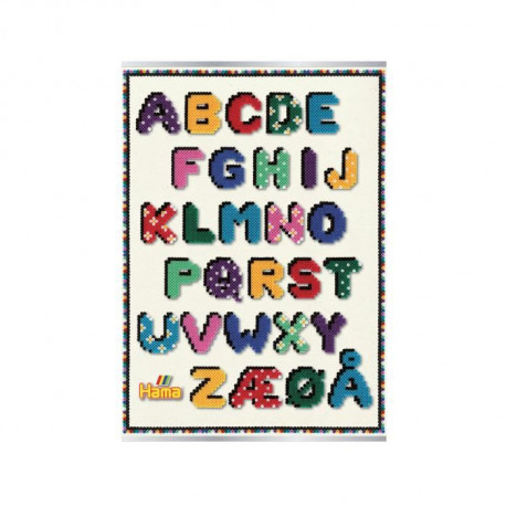 "HAMA Poster ""Lettres"""