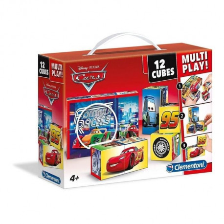 CARS Cubes 12 pieces Multi Play