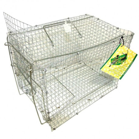 TERRITOIRE CHASSE Cage a oiseaux   310x210x210mm