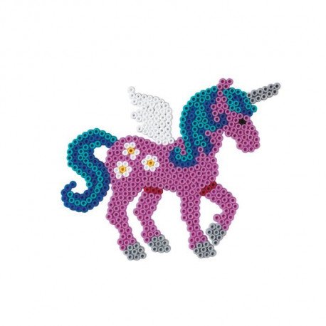 Kit Grand Modele Plaque Licorne et Perles