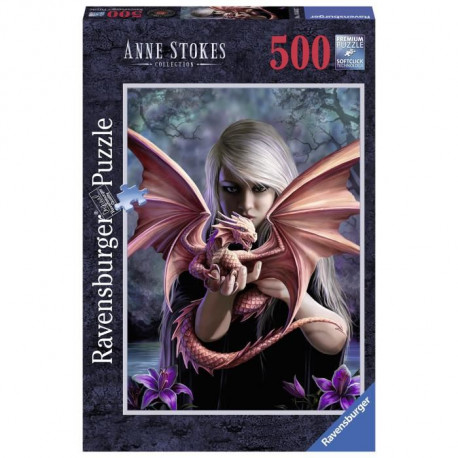 Puzzle 500 pcs La Fille Au Dragon Anne Stokes