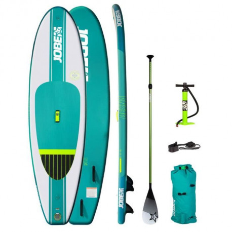 JOBE Pack Paddle Gonflable Aero Desna 10'0 - Vert - 3,04 m