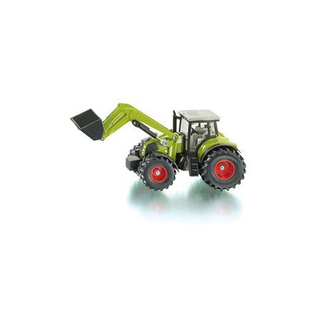 SIKU Tracteur Claas Axion 850 avec Chargeur Frontal Echelle 1/50eme
