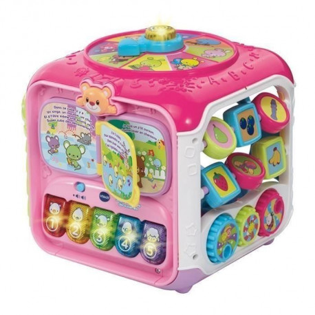 VTECH Super Cube Des Decouvertes Rose