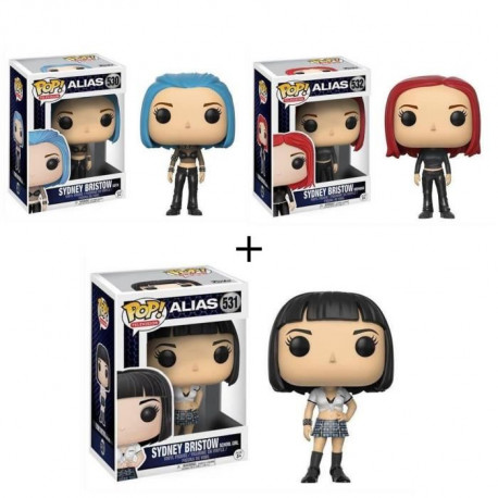 Pack de 3 Pop! Alias