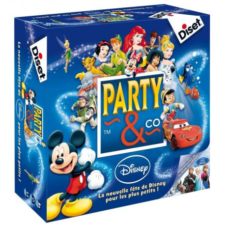 DISET - Party & Co Disney - Jeu de Société