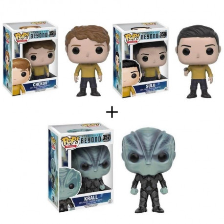 Pack de 3 Pop! Star Trek Beyond