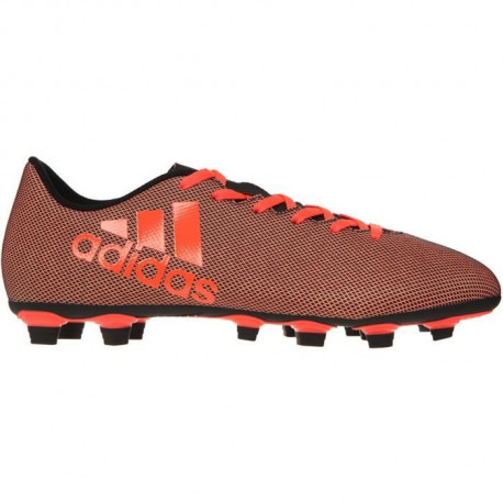 ADIDAS Chaussures de Football X 17.4 FxG Core - Homme - Orange et Noir