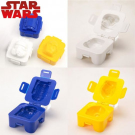 Pack 3 moules a oeufs Star Wars: C-3PO + Stormtrooper + R2-D2