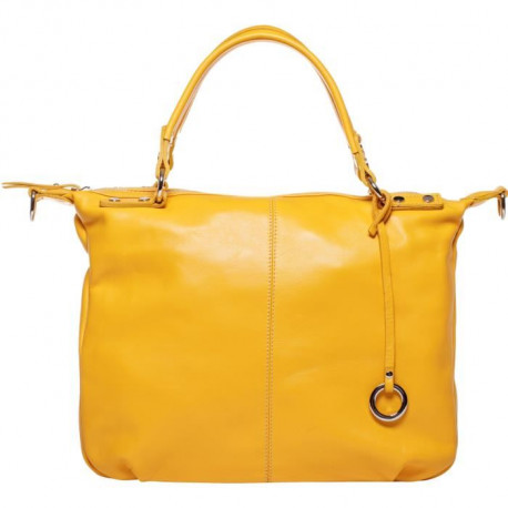 MAIA PARIS - STELLA Sac a main jaune moutarde