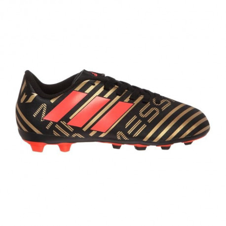 ADIDAS Chaussures de football nemeziz Messi 17.4 - Junior - Noir