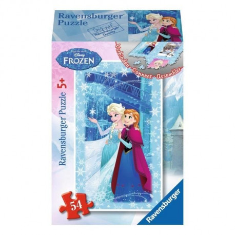 RAVENSBURGER La Reine des Neiges Mini puzzle - 54 pieces