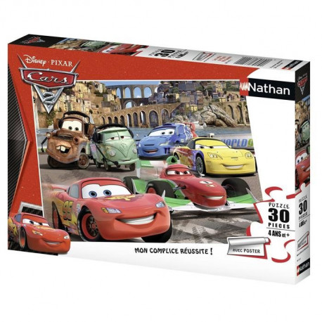 CARS Puzzle 30 pcs Les Amis De Flash McQueen Cars - Disney