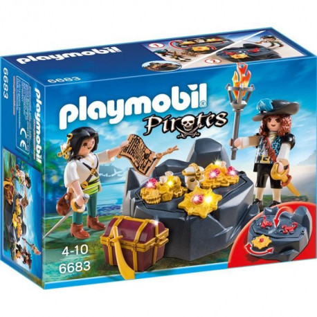 PLAYMOBIL 6683 - Pirates et Trésor Royal