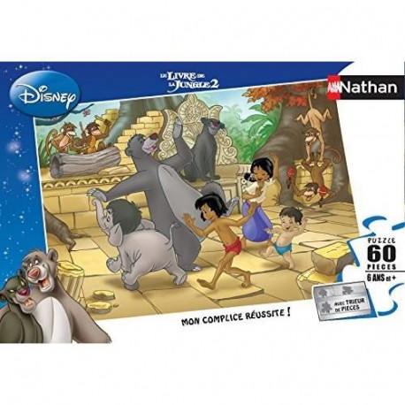 LE LIVRE DE LA JUNGLE Puzzle 60 pcs - Disney