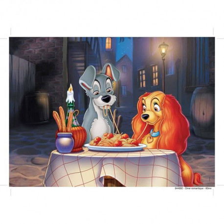 LA BELLE ET LE CLOCHARD Puzzle 60 pcs - Disney