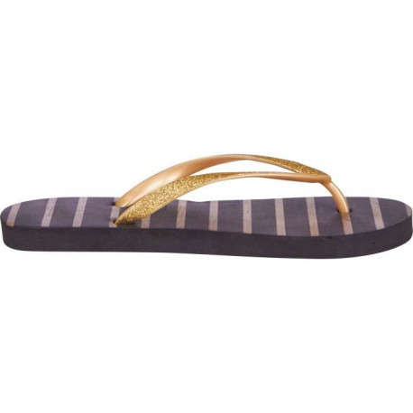 UP2GLIDE Tongs Adulte Gold Noir
