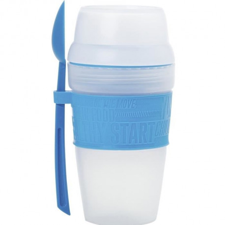 Breakfast shaker 56 cm Dining at work - Blanc - Plastique