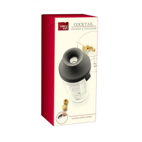 VACUVIN Shaker a cocktail en verre 350ml