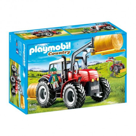 PLAYMOBIL 6867 - Country - Grand tracteur