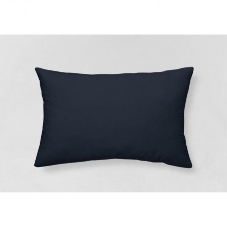 TODAY Coussin Coton déhoussable GOA Velours  Blue Moon - 30x50 cm