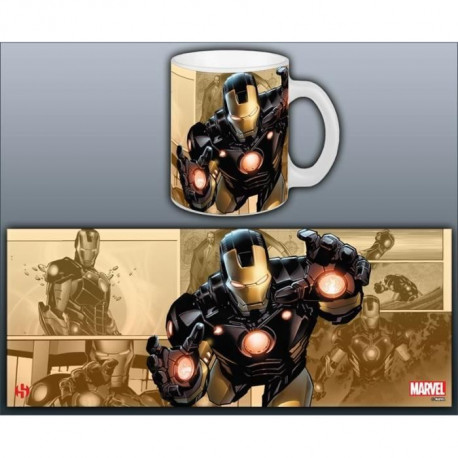 Mug Marvel Now Iron Man Série 1 Blanc