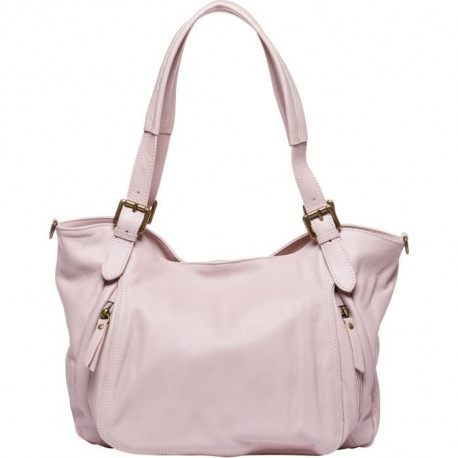 MAIA PARIS - MARIA Sac a main rose poudré