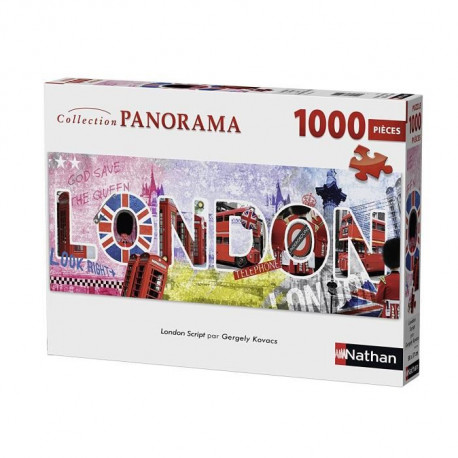 Puzzle London Script 1000 pcs