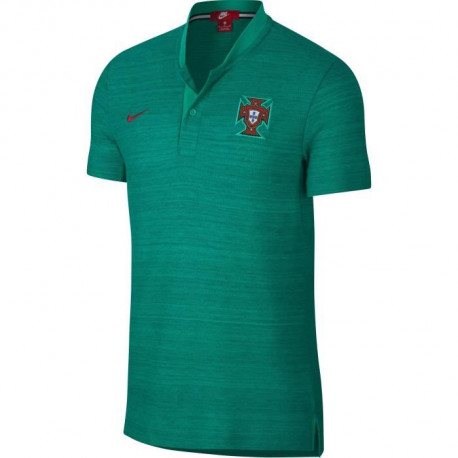 NIKE Polo de Football Authentique FPF - Homme - Vert