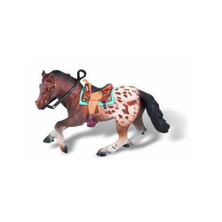 BULLY - Figurine Etalon Appaloosa - 17 cm