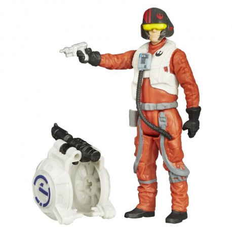 STAR WARS - Poe DAMERON - Figurine 10cm