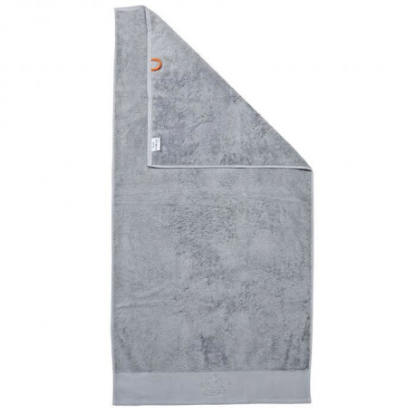 DONE Drap de Douche Stone Crown - Argent - 70x140cm