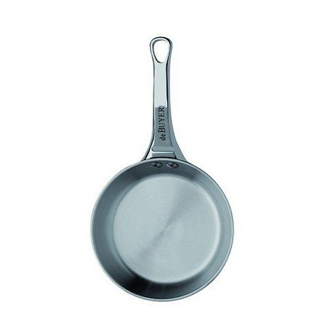 DE BUYER Mini poele ronde Affinity - Inox - Diametre : 10 cm