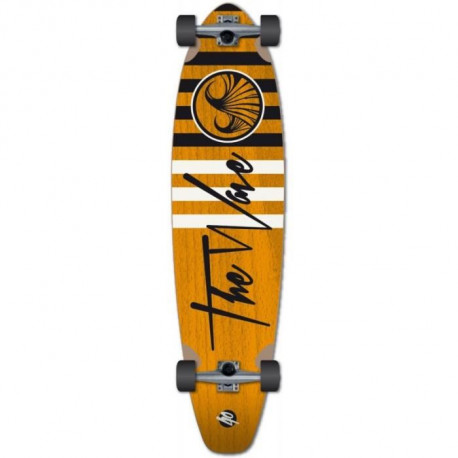 "WAVE Skateboard 40"" Longskate Striper Complete L0000 - Orange"