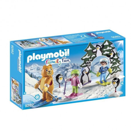 PLAYMOBIL 9282 - Family Fun - Moniteur de Ski
